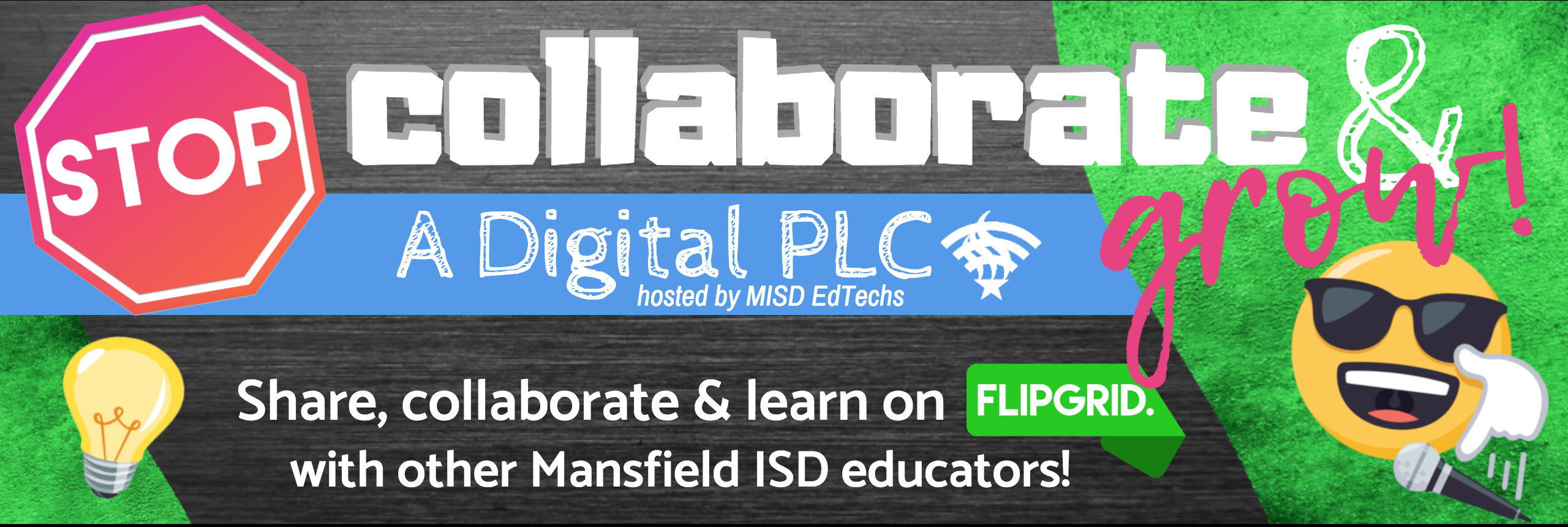 Flipgrid Cover Collaborate & Grow