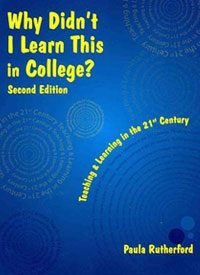 Why Didn't I Learn this in College? book cover