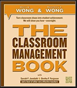 The Classroom Management Book cover by Harry Wong