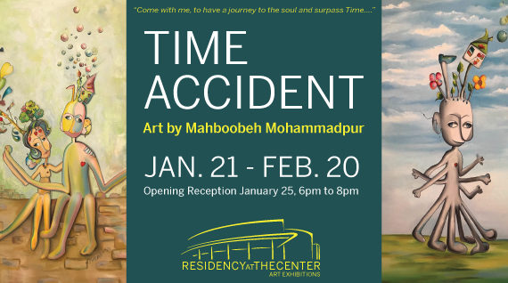 Residency at The Center Art Exhibitions: Time Accident