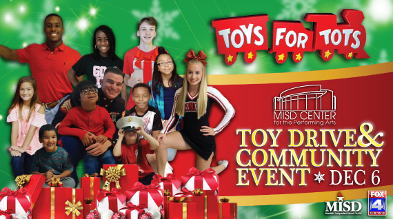 Toys For Tots Community : Mansfield independent school district k public
