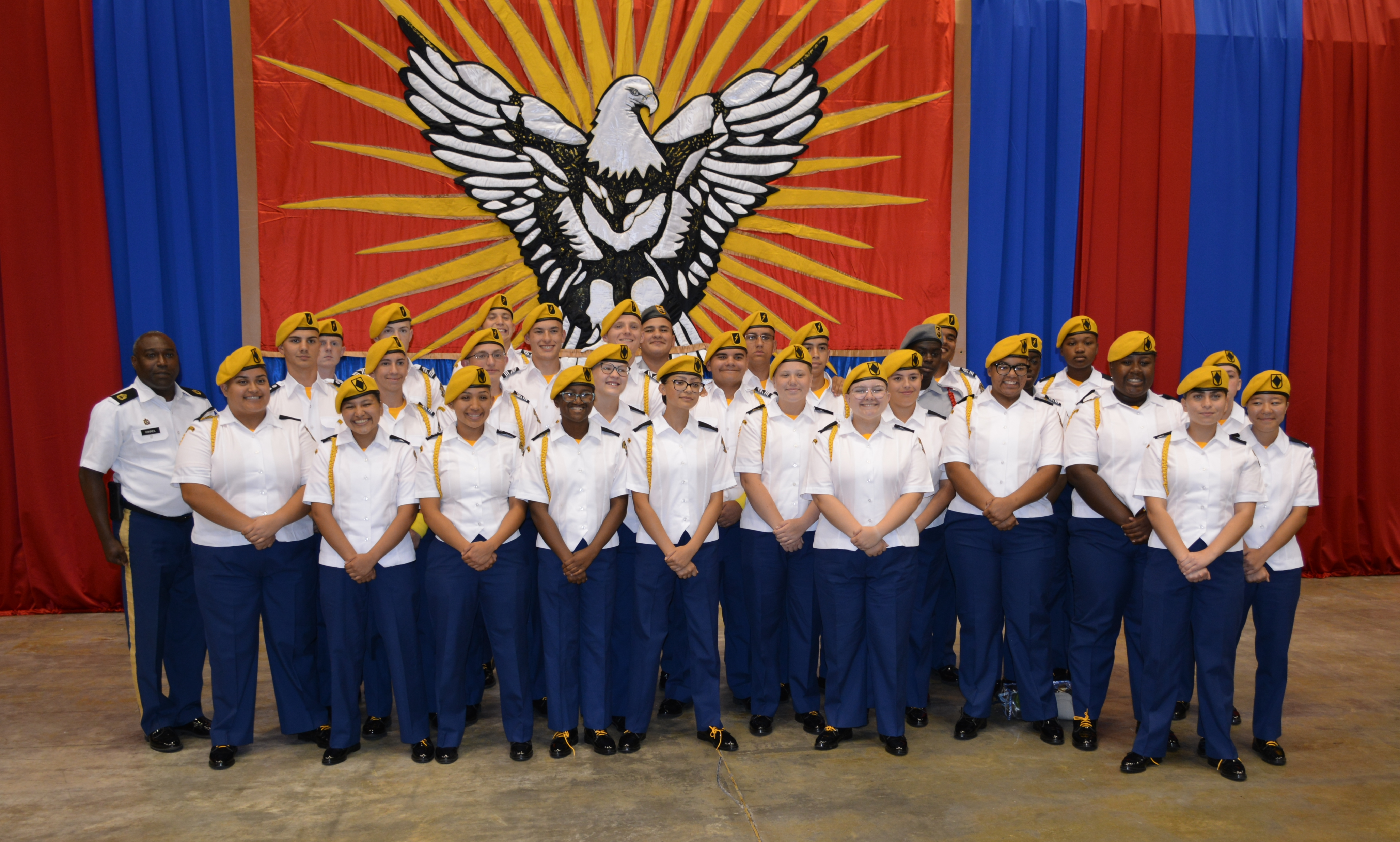 Mansfield High School JROTC Places at National Tournaments