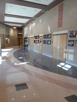 HS PAC Foyer Area