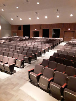 HS PAC Seating View