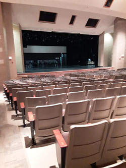 HS PAC Stage View