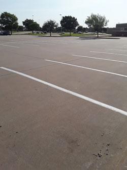 K-8 Parking Lots