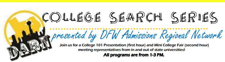 College Search Series Header