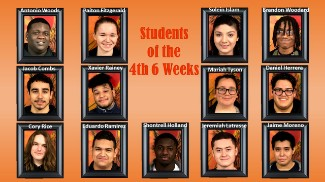 Collage of Students of the 4th Six Weeks