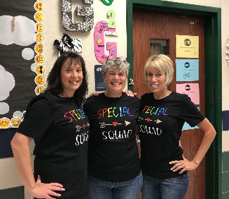 picture of Special education team