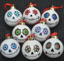 Sugar Skull Ornament