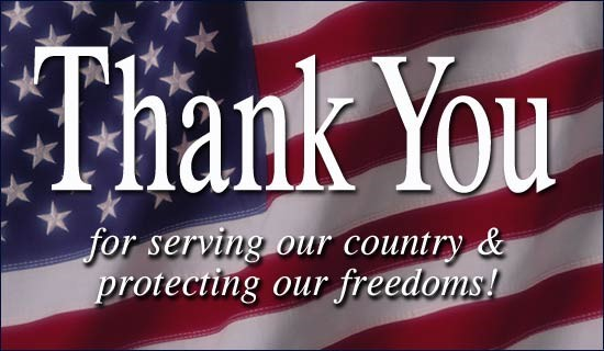 Veterans Day Thank you picture