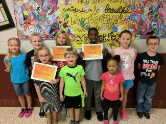 Students who exemplefied Respect for the 1st Six Weeks