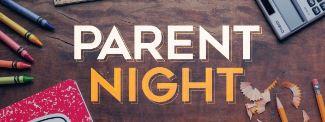 Parent Night graphic