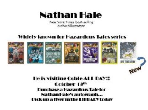 Nathan Hale Author and Illustrator Visit