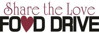 Share the Love Food Drive Clip ART