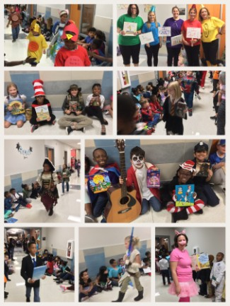 Miller's 2018 Book Character Parade