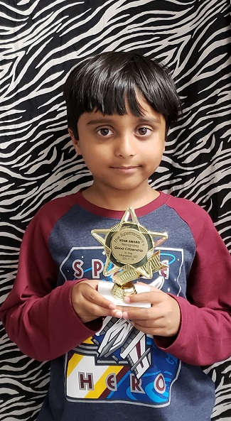 WBE April Superintendent's Star Award honoree Hamzah